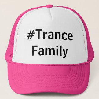 Hash Tag Trance Family Trucker Hat