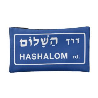 Hashalom Street, Tel Aviv, Israel Makeup Bag
