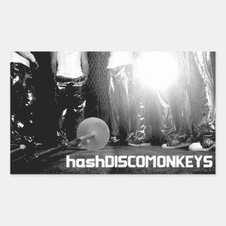 hashDISCOMONKEYS Sticker