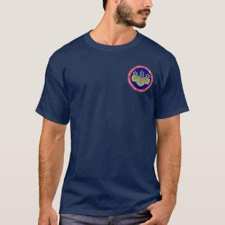 Hashiba Clan Red White & Blue Seal Shirt