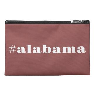 Hashtag Alabama State Pride Travel Accessory Bags
