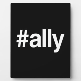 HASHTAG ALLY PHOTO PLAQUES