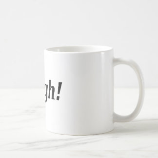 Hashtag - Argh! Coffee Mug