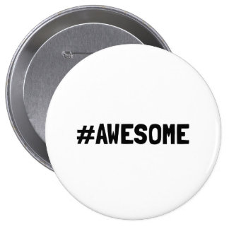 Hashtag Awesome Button