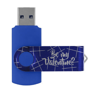 hashtag Be my Valentine? USB by DAL Flash Drive