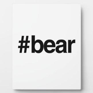 HASHTAG BEAR -.png Display Plaque