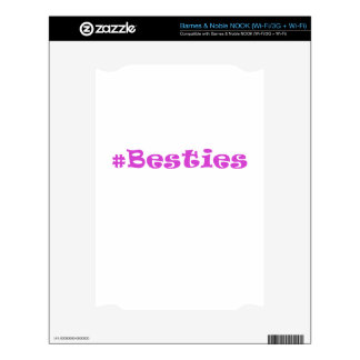 Hashtag Besties Skin For The NOOK