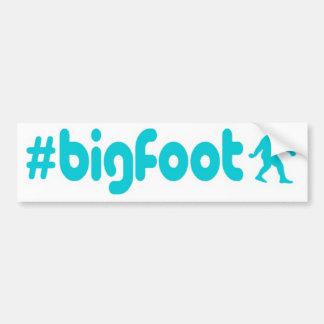 Hashtag Bigfoot Car Bumper Sticker