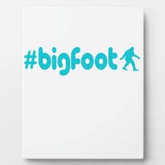 Hashtag Bigfoot Plaques