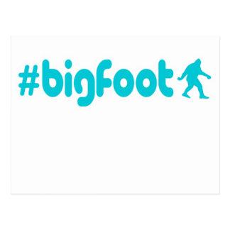 Hashtag Bigfoot Post Card