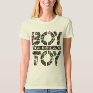Hashtag BOY TOY - A Lover For Social Sharing, Camo T-Shirt