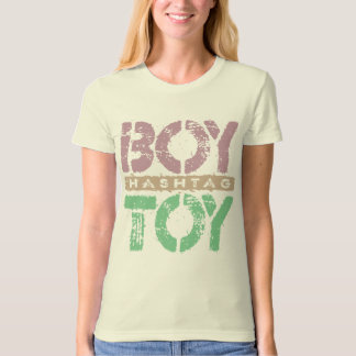 Hashtag BOY TOY - A Lover For Social Sharing, Plum T-Shirt