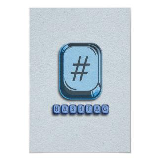 Hashtag Card