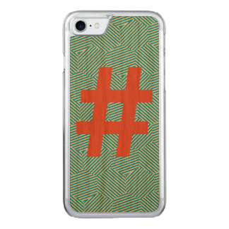 Hashtag Cherry Wood iPhone 6/6s Slim Carved iPhone 7 Case