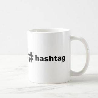 # hashtag coffee mug