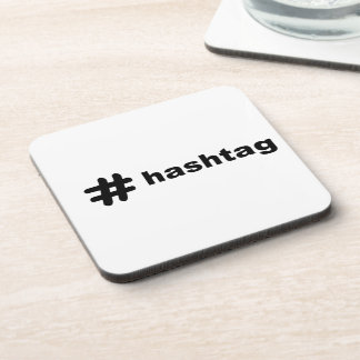 # hashtag drink coaster