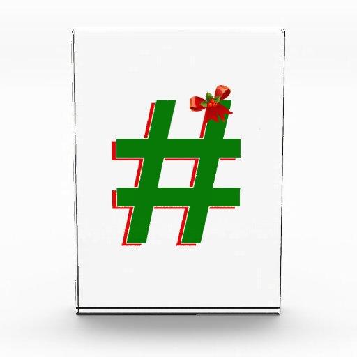 #HASHTAG de los #Christmas - símbolo de la
