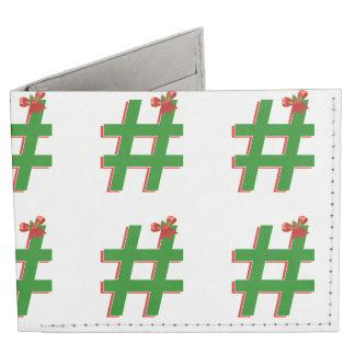 #HASHTAG de los #Christmas - símbolo de la Billeteras Tyvek®