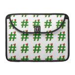 #HASHTAG del navidad - símbolo de la etiqueta del Funda Para Macbooks