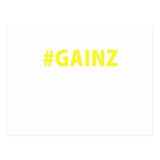 Hashtag Gainz Post Card