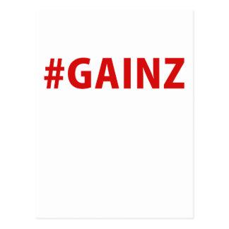 Hashtag Gainz Postcard