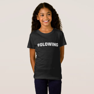 Hashtag Glowing Glow Party Tshirt