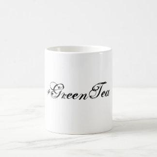Hashtag Green Tea Mug- Minimalist Coffee Mug