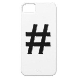 #HASHTAG - Hash Tag Symbol iPhone 5 Case