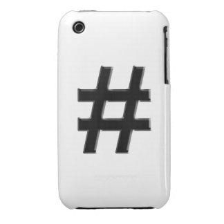 #HASHTAG - Hash Tag Symbol Case-Mate iPhone 3 Case