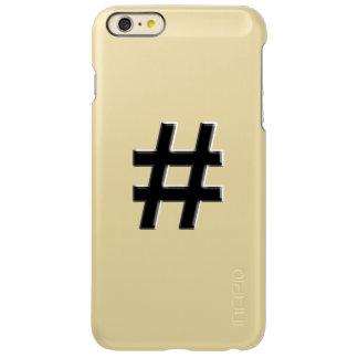 #HASHTAG - Hash Tag Symbol Incipio Feather® Shine iPhone 6 Plus Case