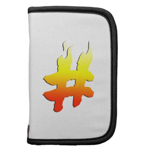 #HASHTAG - Hash Tag Symbol on Fire Planners