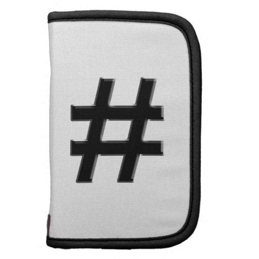 #HASHTAG - Hash Tag Symbol Planner