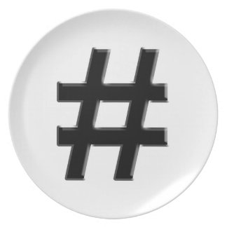 #HASHTAG - Hash Tag Symbol Plates