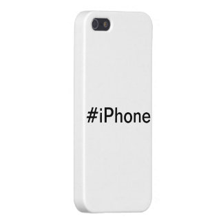 Hashtag iPhone Case Cover For iPhone 5/5S