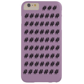 Hashtag Iphone Case Barely There iPhone 6 Plus Case