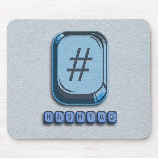 Hashtag Mousepad