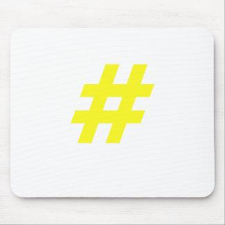 Hashtag Mouse Pad