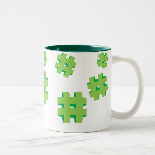 # Hashtag Mug