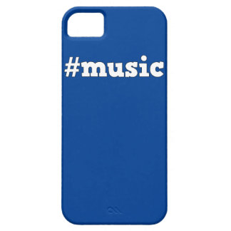 Hashtag #Music Cool Blue IPhone Case/Cover iPhone SE/5/5s Case