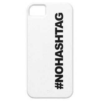 #HASHTAG...not. iPhone SE/5/5s Case