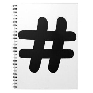Hashtag Notebook