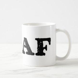 hashtag oaf military soldier operator classic white coffee mug