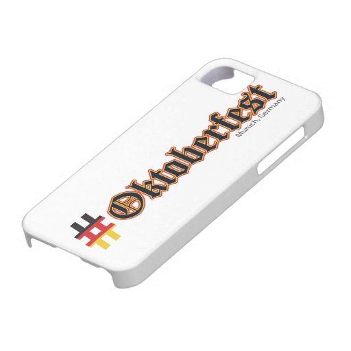 Hashtag Oktoberfest iPhone 5 Case-Mate Coberturas