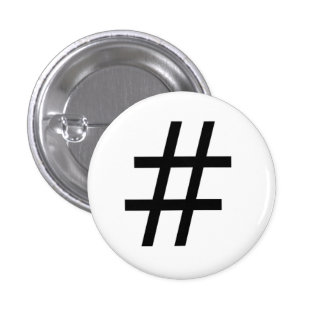 Hashtag Pin