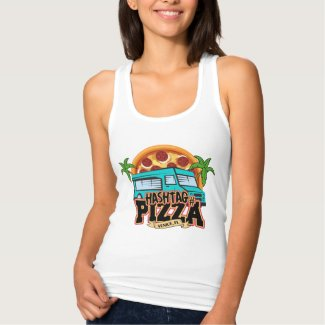 Hashtag Pizza Racerback Tank Top
