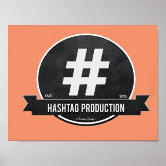 Hashtag Plakat Poster
