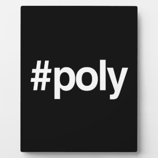 HASHTAG POLY PLAQUES