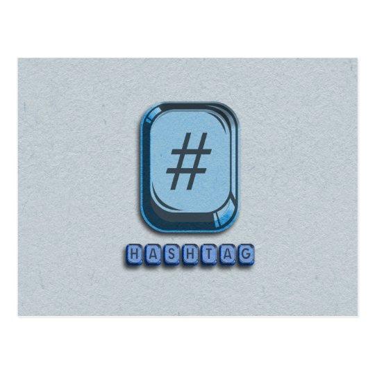 Hashtag Postcard