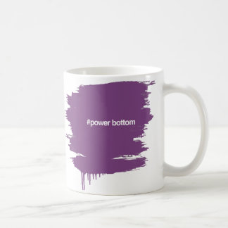 HASHTAG POWER BOTTOM COFFEE MUG