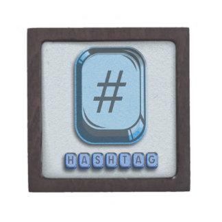 Hashtag Premium Keepsake Box